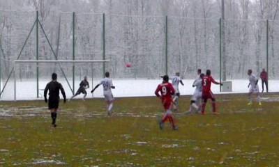 Gol Dariusza Dudki w meczu z Rużomberokiem