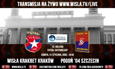 Futsal Ekstraklasa: Wisła Krakbet - Pogoń '04 Szczecin