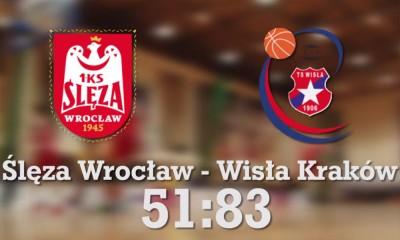 Ślęza Wrocław - Wisła Can-Pack Kraków 61:83