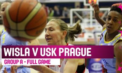Wisła Can-Pack Kraków - ZVVZ USK Praga