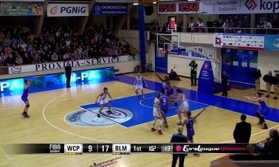Euroliga: WIsła Can-Pack Kraków – BLMA 76:70 [skrót]