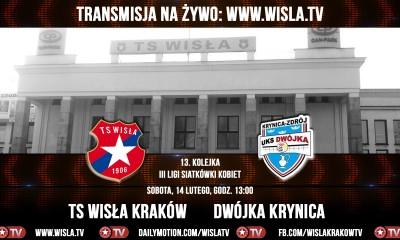 Wisła Kraków – Dwójka Krynica [Wisła.TV na żywo]