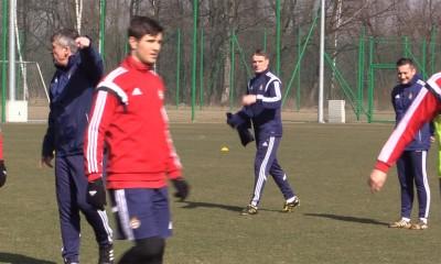 Pierwszy dzień trenera Moskala: trening, konferencja [Wisła.TV]