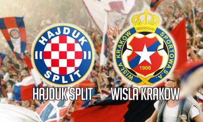 Wisła gra z Hajdukiem [Na żywo]