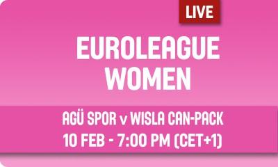 Euroliga: AGU Spor – Wisła Can-Pack [Na Żywo]