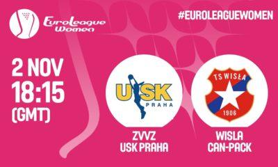 ZVVZ USK Praga – Wisła Can-Pack Kraków [Euroliga Na Żywo]