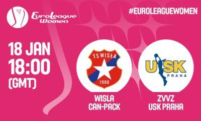 Wisła Can-Pack Kraków – ZVVZ USK Praga [Euroliga Na Żywo]