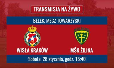 Wisła Kraków – MŠK Žilina [Na Żywo]